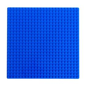 Base plate for constructor 19.5*19.5, blue