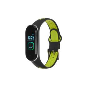 "Фитнес-браслет Smarterra Fitmaster TON, 0.96"", TFT, IP65, NFC, 90 мАч, чёрно-зеленый"