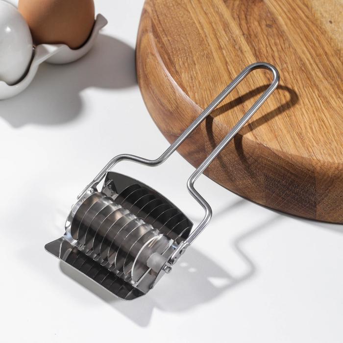 Нож для нарезания домашней лапши KONFINETTA «Профи», 5 мм, 15,5×6,5×3 см