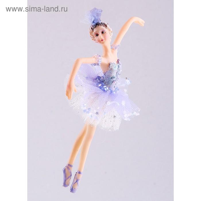 """Новогоднее украшение """"Балерина в фиолетовом"""""""