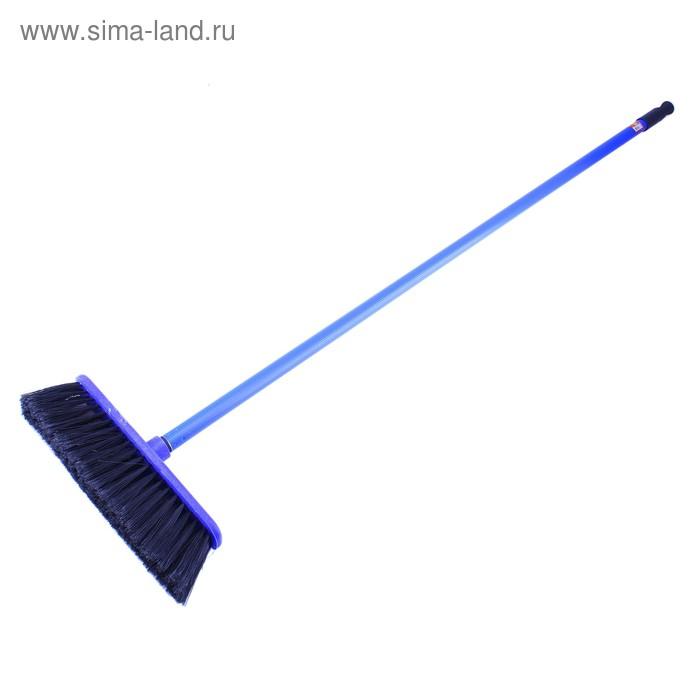 """Комплект для уборки """"Арианна"""", 2 предмета: щетка, черенок, цвет синий"""
