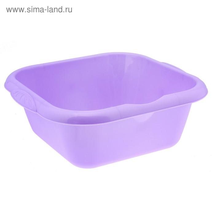 "Таз пластиковый 6 л ""Тюльпан"", цвет лаванда"