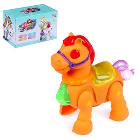 """Horse """"Friend"""", light, sound, battery powered, MIX"""