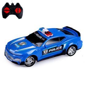 Машина радиоуправляемая «Полиция», работает от батареек, МИКС