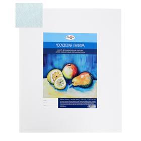 Canvas mounted on cardboard, 100% cotton, 50 x 60 cm, 2 mm, acrylic primer, WATERPROOF, fine-grained, Mosaic palette range