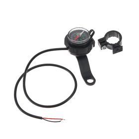 Зарядное устройство, компас для мото на руль, черный