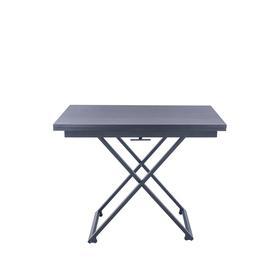 Стол-трансформер Leset Манхэтте,черный муар, венге 1000/1400х700/1000х760