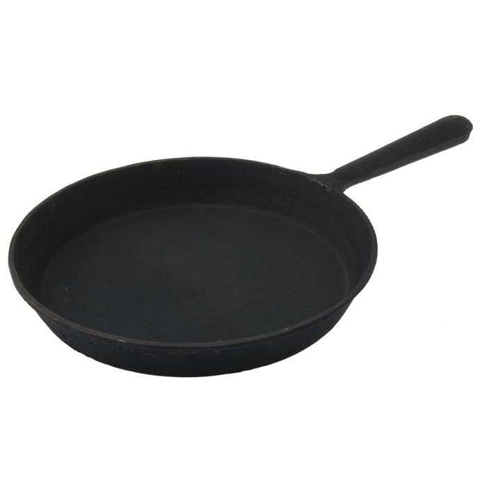 Сковорода 22 см, цвет черный