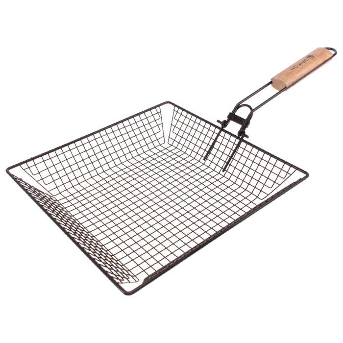"""Решётка """"Универсальная"""" антипригарная, сталь 1,5 мм, 31 х 31 х 5,5 см"""