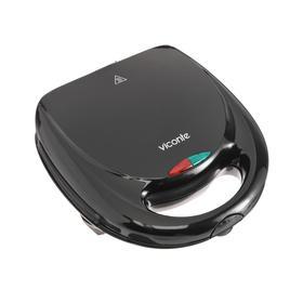 Вафельница Viconte VC-161, 800 Вт, орешек, антипригарное покрытие, чёрная