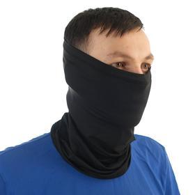 Ветрозащитная маска, размер универсальный, черный