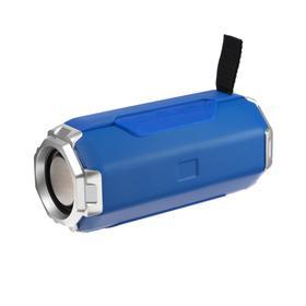 Портативная колонка LuazON PS-06, 12 Вт, 1200 мАч, синяя