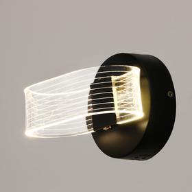 Бра 63430/1 LED 10Вт 4000К черный 12х10х16 см