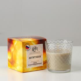 "Scented candle in a glass ""Antitabak"", gorenje 30 h"