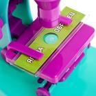 Набор биолога 6 предметов: микроскоп, 2 калейдоскопа, 2 пустых слайда, образец клеток - фото 1048394