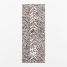 """Конверт для столовых приборов """"Home"""" 9,2 х 24 см, 100% п/э, фетр"""