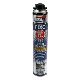 Клей полиуретановый POLYNOR FIXO, для теплоизоляции, 850 мл