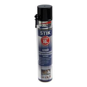 Клей полиуретановый POLYNOR STIK, для теплоизоляции, бытовой, 1000 мл
