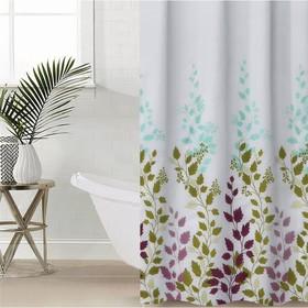 Штора для ванной комнаты Доляна «Осень», 180×180 см, EVA