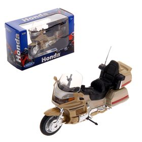 Модель мотоцикла Honda Gold Wing, масштаб 1:18