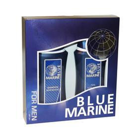 Подарочный набор мужской Blue Marine № 071: шампунь, 250мл и гель для душа, 250 мл