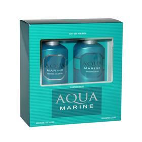 Подарочный набор мужской Aqua Marine N 361: шампунь, 250 мл и гель для душа, 250 мл