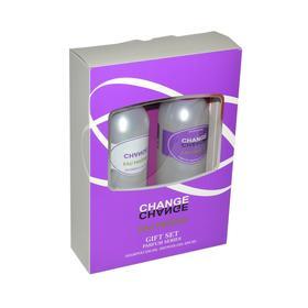 Подарочный набор женский Change eau Fraiche N 201: шампунь, 250 мл и гель для душа, 250 мл