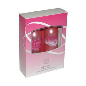 Подарочный набор женский Crystal N 191: шампунь, 250мл и гель для душа, 250 мл