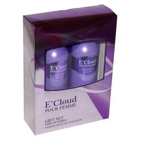 Подарочный набор женский E`Cloud N 141: шампунь250мл+гель для душа250 мл
