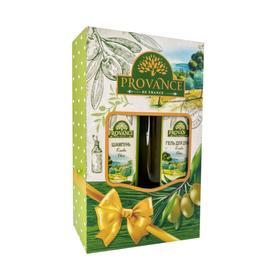Подарочный набор женский MINI Provance № 111M Olive: шампунь, 250мл и гель для душа, 250 мл