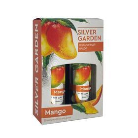 Подарочный набор женский Silver Garden N 761 Манго: шампунь, 250 мл и гель для душа, 250 мл