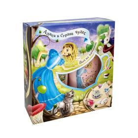 Подарочный набор Festiva «Алиса в Стране Чудес» N 501 Веселое Чаепитие: шампунь, гель/пена