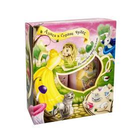 Подарочный набор Festiva «Алиса в Стране Чудес» N521 Волшебное приключение: шампунь, гель