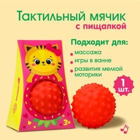 """Развивающий мячик """"Кошечка"""" 1 шт."""