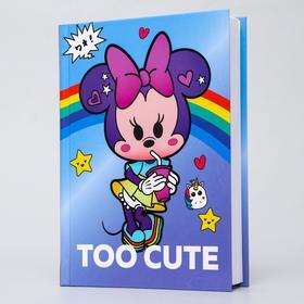 Ежедневник А5, 160 листов, Too cute «Минни Маус»