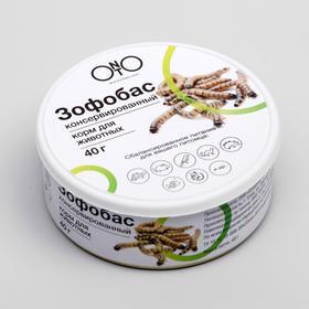 Консервированный корм ONTO для животных, зофобас 40 г