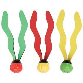 Лепестки для подводной игры, 3 цвета в наборе, от 6 лет 55503
