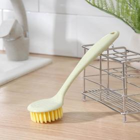 Щётка для чистки посуды Доляна, 21×6 см