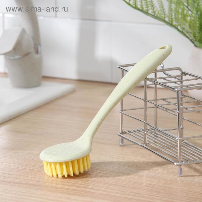 Dish cleaning brush round 21x6 cm