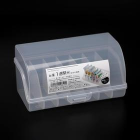Органайзер для таблеток YAMADA, 9×16,2×8,3 см, цвет прозрачный
