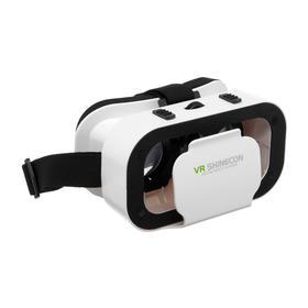 """Очки виртуальной реальности VR Shinecon G05, для смартфонов 3.5-6"""", регулировка линз, белые"""