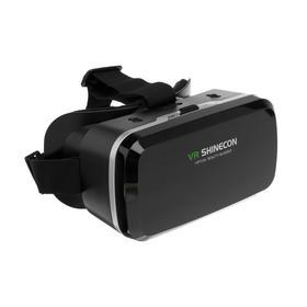 """Очки виртуальной реальности VR Shinecon G04A для смартфонов 3.5-6"""", регулировка линз, чёрные"""