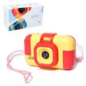 Детский фотоаппарат «Лучший фотограф», цвет красный