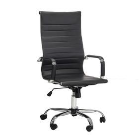 Кресло офисное Newport,  экокожа черная