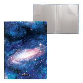 """Папка А4, 20 вкладышей, 550 мкм, ErichKrause """"Space"""", 17 мм, с рисунком"""