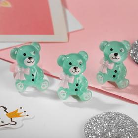 "A set of children's ""Vibracula"" 2 pre-TA: clip, ring, bear, MIX color"