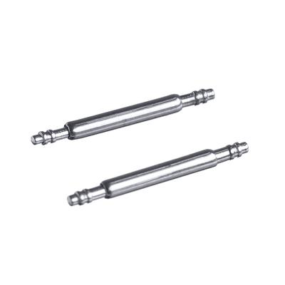 A pair of pins for a 12 mm wristwatch, the working part is 10 mm