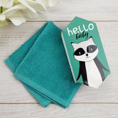 "Towel Terry ""Raccoon"" 30x30 cm, 100 HL 340g / m2"