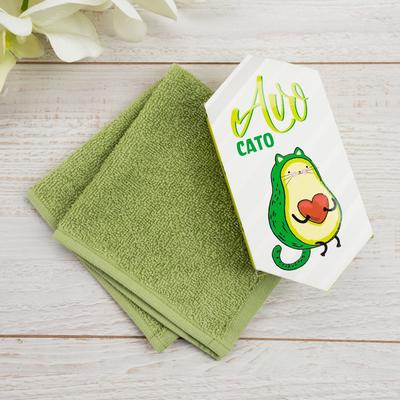 "Towel Terry ""Avocato"" 30x30 cm, 100 HL 340g / m2"