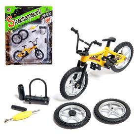 Пальчиковый велосипед BMX, с аксессуарами